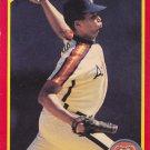 Jaun Agosto - Astros 1990 Score Baseball Trading Card #284