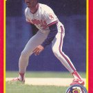 Devon White - Angels 1990 Score Baseball Trading Card #312