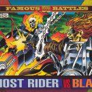 Ghost Rider vs Blaze - 1993 Marvel Comic Trading Card #172