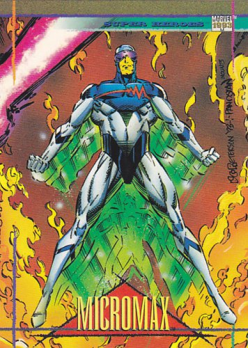 Micromax - 1993 Marvel Comic Trading Card #38