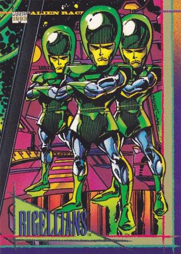 Rigellians - 1993 Marvel Comic Trading Card #126