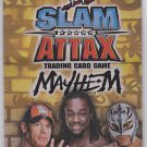 WWE Slam Attax - Mayhem - Brand New Factory Sealed Pack