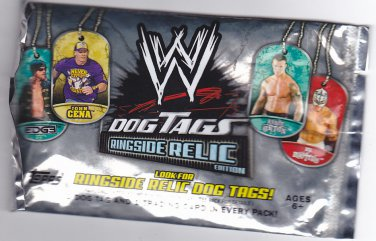 WWE Topps 2011 Dog Tags - Ring Side Relic Edition Factory Sealed Pack