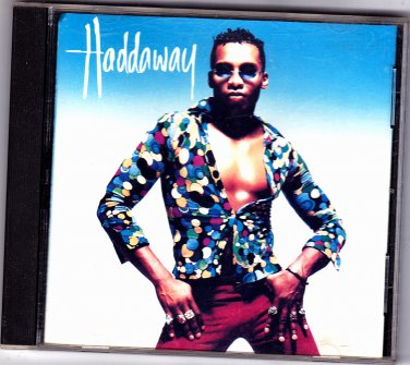 Haddaway by Haddaway CD 1993 - Very Good