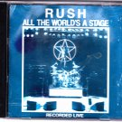 All the World's a Stage by Rush CD - RARE PRESS 1993  - Good