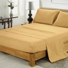 400TC TAUPE QUEEN SOLID  SHEET SET – 100% EGYPTIAN COTTON