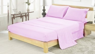 400TC LILAC QUEEN SOLID  SHEET SET � 100% EGYPTIAN COTTON