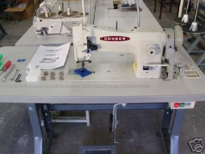 CONSEW 206RB-5 INDUSTRIAL SEWING MACHINE LEATHER NEW !!