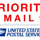 PRIORITY MAIL SHIPPING FOR DECALS