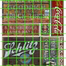 1009 - Advertising Decal Set 15 COKE COLA SCHLITZ GOODRICH TIRES OVERALLS
