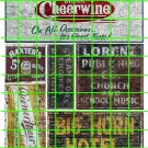 1007 - Advertising Decal Set 16 GHOST SIGNS CHEERWINE BIG HORN HOTEL STEAM GAS