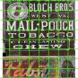 1044 - Advertising Decals Set 37 GHOST SIGN MAIL POUCH TOBACCO PABST BLUE RIBBON