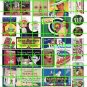 5008 - Ad Poster Set 3 SQUIRT SODA BEER CRACKERS SIGNS AND ADS