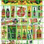 5010 - Ad Poster Set 6 SODA COLA COKE GINGER ALE ADVERTISING SIGNS