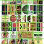 2002 - Assorted Ad Set 9 BEER ADVERTISING SIGNS