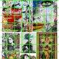 6009 - Street Art/Graffiti #5 Women Colorful Urban Pop Art