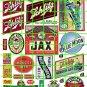 2008 - Beer Set 3 Jax Schlitz Miller Blue Moon Highlander