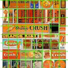 5021 - Vintage Orange Crush Advertising Collection