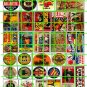 102 - Assorted Advertising Circus WWII Signs Eggs Banners Signs
