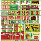 5025 - BUSINESS SIGNS PIZZA BBQ LUNCH CAFE SODAS COLAS POP