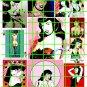 6018 - LG BETTIE PAGE PIN UPS ART GARAGE BURLESQUE
