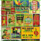 5051 - ASSORTED BUILDING SIGNS CANDY TRAINS CRACKERS PAINT PICKLES