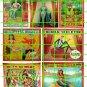 3005 - Circus Side Show Banners #3 Mermaid Girl Alligator Girl Elephant Boy