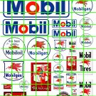 4011 - Mobilgas #2 and Oil Vintage Signage Filling Stations signs