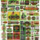 N011 - N SCALE HARLEY DAVIDSON INDIAN MOTORCYCLES BUILDING ADVERTISING SIGNAGE