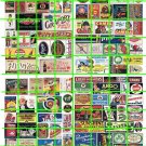 N013 - N SCALE DECALS ASSORTED ADVERTISING SIGNAGE GROCERY PRODUCTS GOODS SERVICES