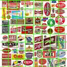 N014 - N SCALE DECALS ASSORTED BEER ADVERTISING SIGNAGE BLATZ BUD PABST BLUE MOON MICRO BREWS