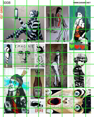 6008 - Street Art/Graffiti Set #4 COLORFULCITY Pop Art