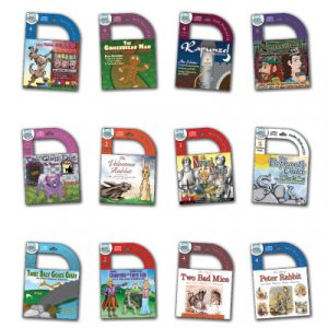12 Pack Classic Childrens Audio Books