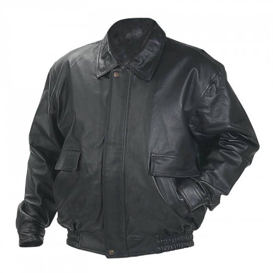 Genuine Soft Glove Leather, Bomber Jacket