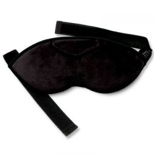 Bucky Shades Sleep Mask  Eye Mask with Earplugs  Black