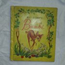 Vintage BAMBI Walt Disney Grosset & Dunlap Book 1942