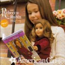 AMERICAN GIRL July 2009 Doll Catalog Meet Rebecca Rubin