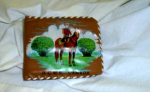 Royal Canadian Mounted Police RCMP Souvenir Wallet