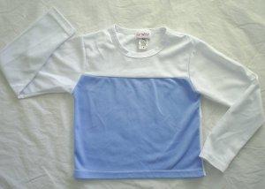 MY TWINN Doll Sporty Blue Shirt Top Girls Medium M 10 12 Twin