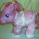 "My Little Pony Rose Blossom Soft 9"" Plush Toy Hasbro 2003"