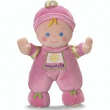 NEW Fisher-Price My First Baby's 1st PINK Doll