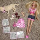 Barbie Love Me Three Doll with Taffy dog & 3 Puppies + Accessories
