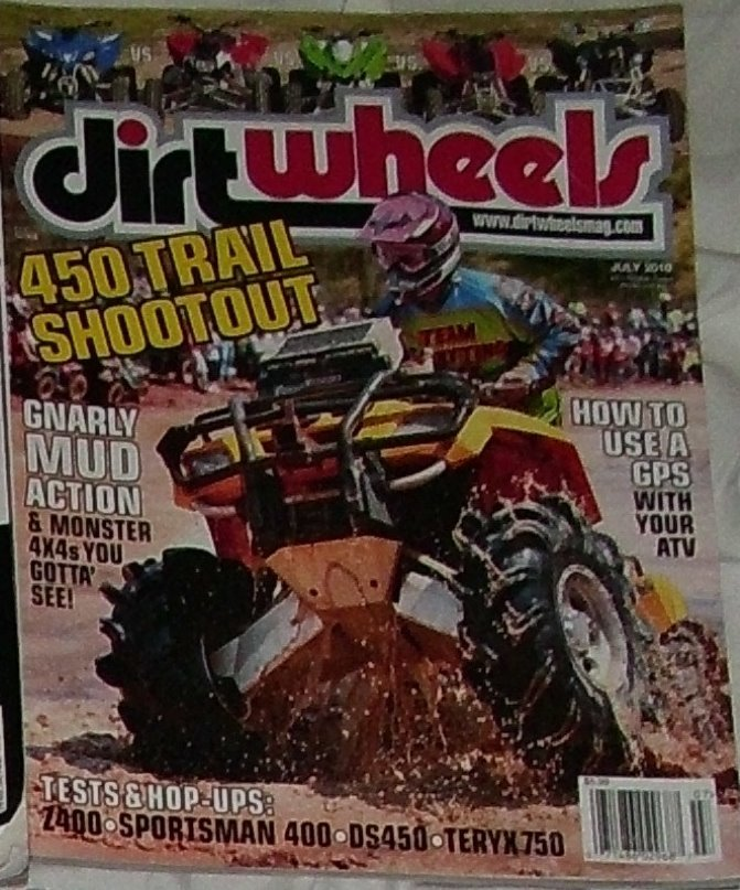 1 Back Issue Dirt Wheels Magazine July 2010