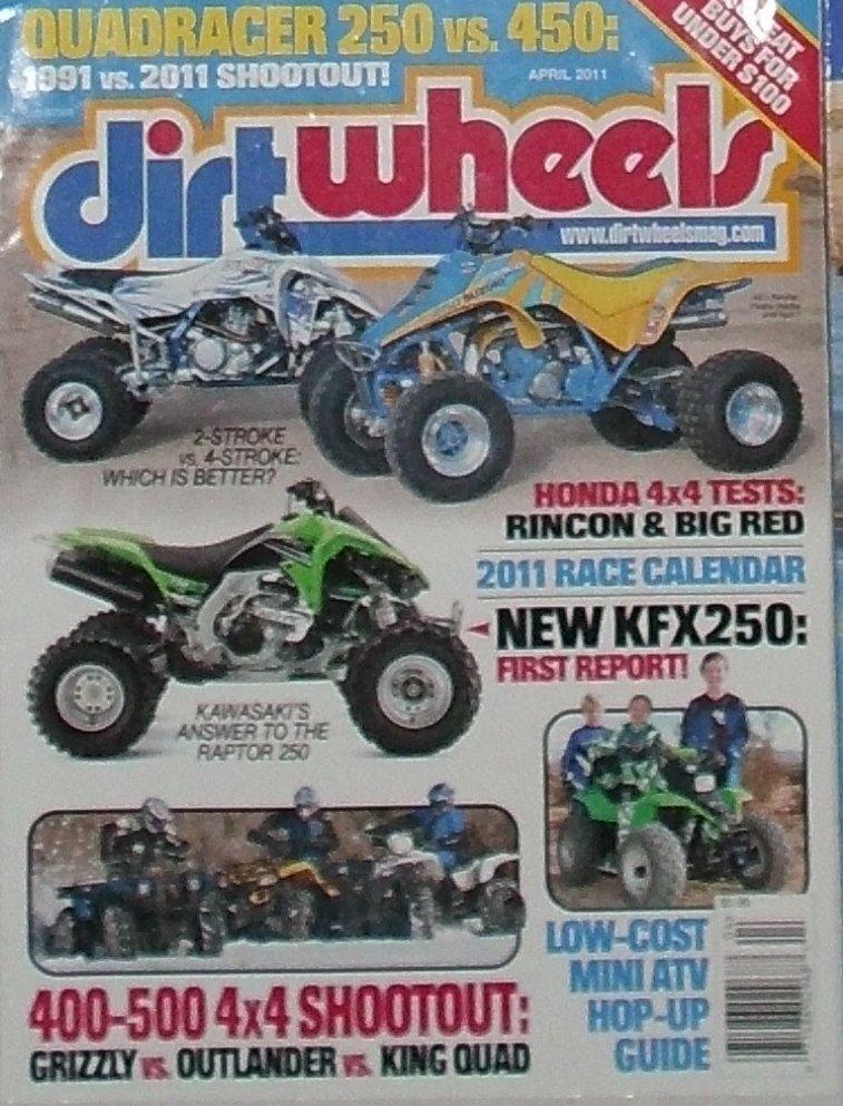 1 Back Issue Dirt Wheels Magazine April 2011