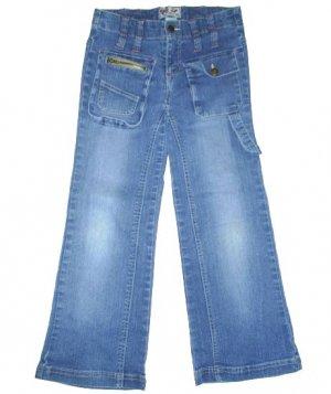 "NY Girlz Stretch Bootcut Jeans Little Girls Size 8 8.5 Plus-- 28"" Waist"