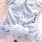 Gund Comfy Cozy Puppy Personalized REESE Blue Plush Baby Boy Toy Lovie Security Blanket 5846