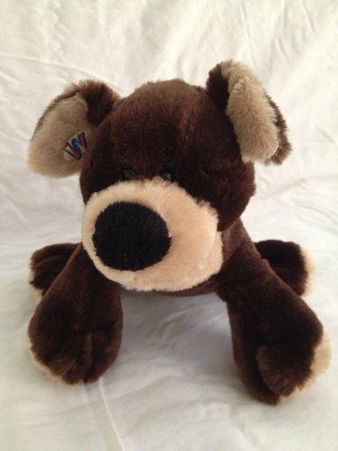 Ganz Webkinz Mocha Pup Brown Puppy Dog HM348 Plush Stuffed Animal Toy No Code