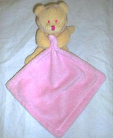 Pink Blankets and Beyond Security Blanket Kitty Cat Tiger Lovie Lovey Blanky