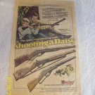 VINTAGE COMIC BOOK AD FOR DAISY RED RIDER BB RIFLE