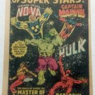 MARVEL HEROS VINTAGE COMIC BOOK AD INCREDIBLE HULK 1979